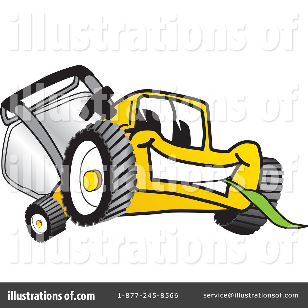 Lawn Mower Clipart #16554.