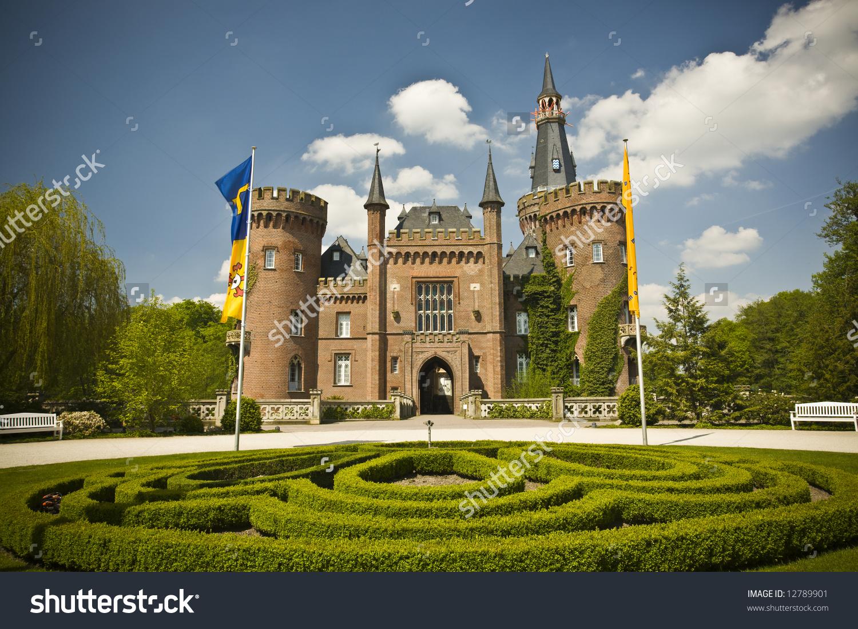 Medieval Castle In Bedburg.