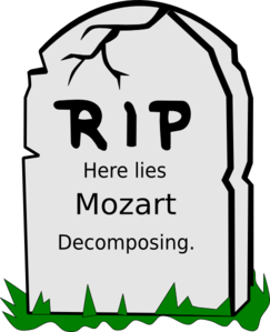 Mozart Clip Art at Clker.com.