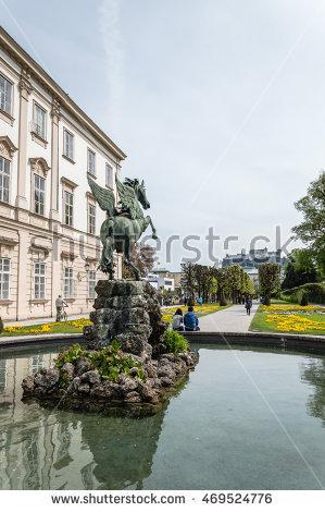 Mozart Statue Stock Photos, Royalty.