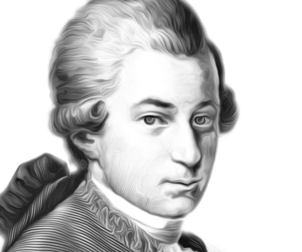 Wolfang Mozart.