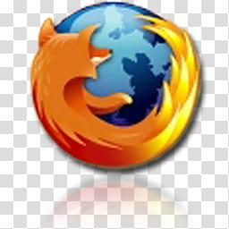 Leopard for Windows XP, Mozilla Firefox logo transparent.