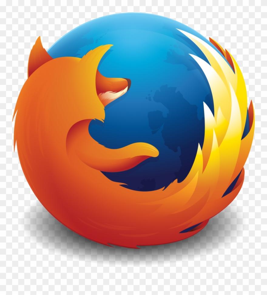 Mozilla Firefox Logo Clipart (#502092).