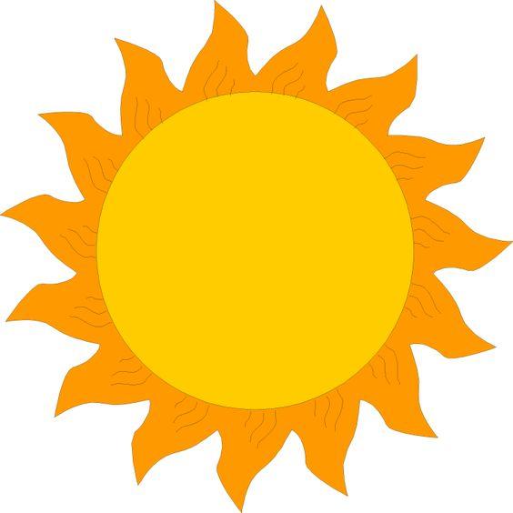 sun clipart free.