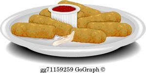 Mozzarella Cheese Clip Art.