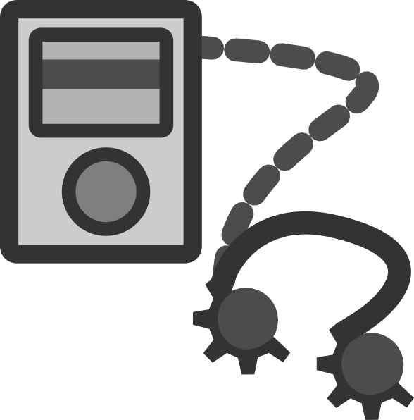 Mp3 Player Device Clip Art at Clker.com.