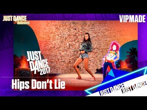 Online: Just Dance 2017 Hips Dont Lie Clipart Background.