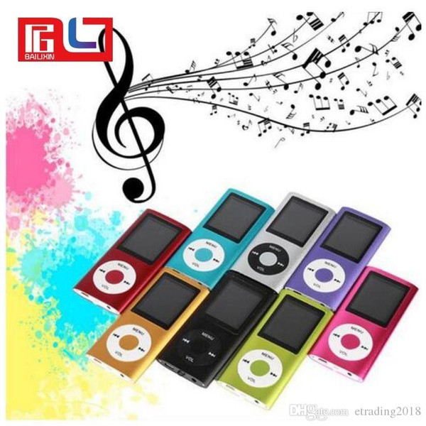 Slim 4TH 1.8 LCD MP4 Player Earphone MP3 Music Player With 2gb TF Card  IPods Touch Mp3 Player Video Mp3 Player From Bhycorporation, $7.54.