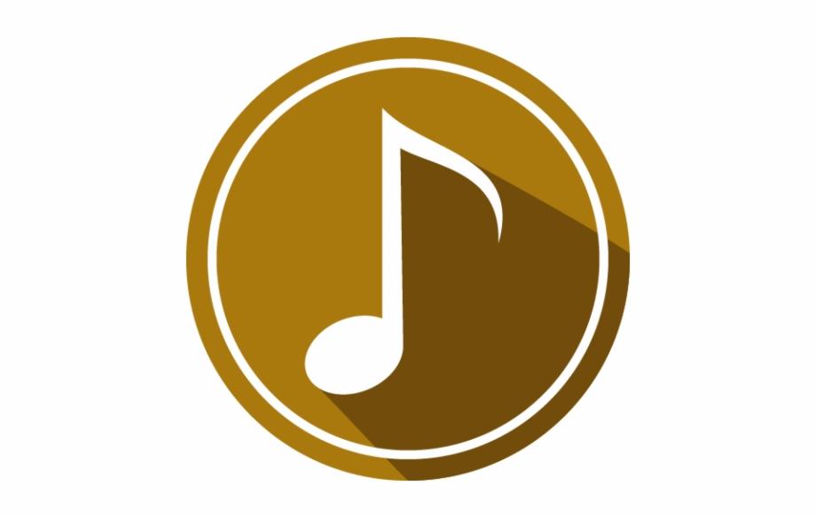 Audio Mp3 Icon Graphic Image Single Music Note.