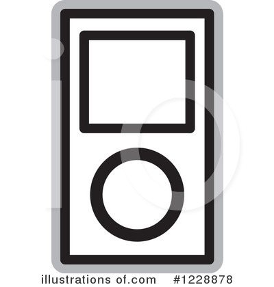 Mp3 Player Clipart #1228878.