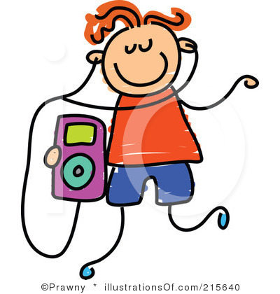 RF) Mp3 Player Clipart.