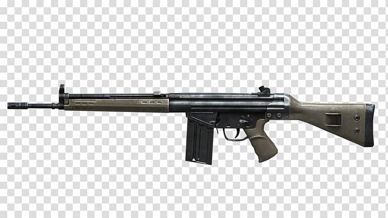 Airsoft Guns Heckler & Koch G3 Rifle PTR 91, Mp5 transparent.