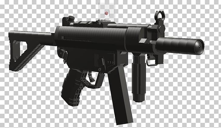 Assault rifle Airsoft Guns Heckler & Koch MP5 Blowback.