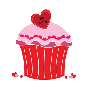 Valentines Day Clipart Cupcake Clipground