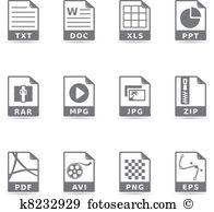 Mpg Clip Art Illustrations. 59 mpg clipart EPS vector drawings.