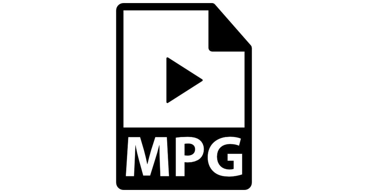 MPG file format variant.