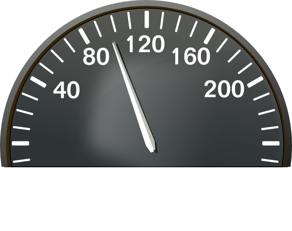 Speedometer 100 Mph Clip Art at Clker.com.