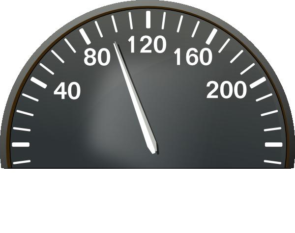 Speedometer 100 Mph Clip Art at Clker.com.