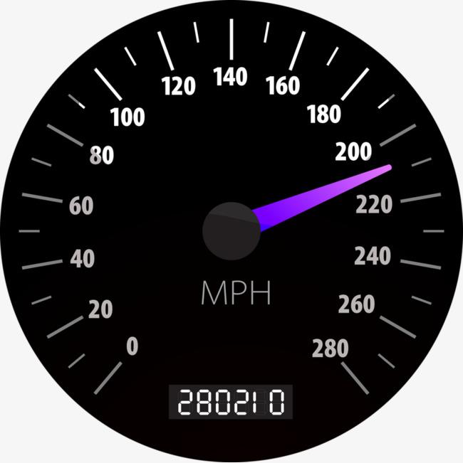 Car Speedometer, Speed #34304.