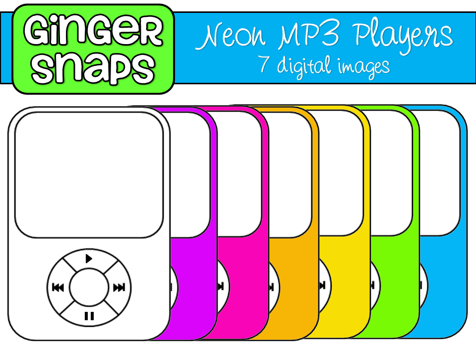 Mp3 Player Clip Art.