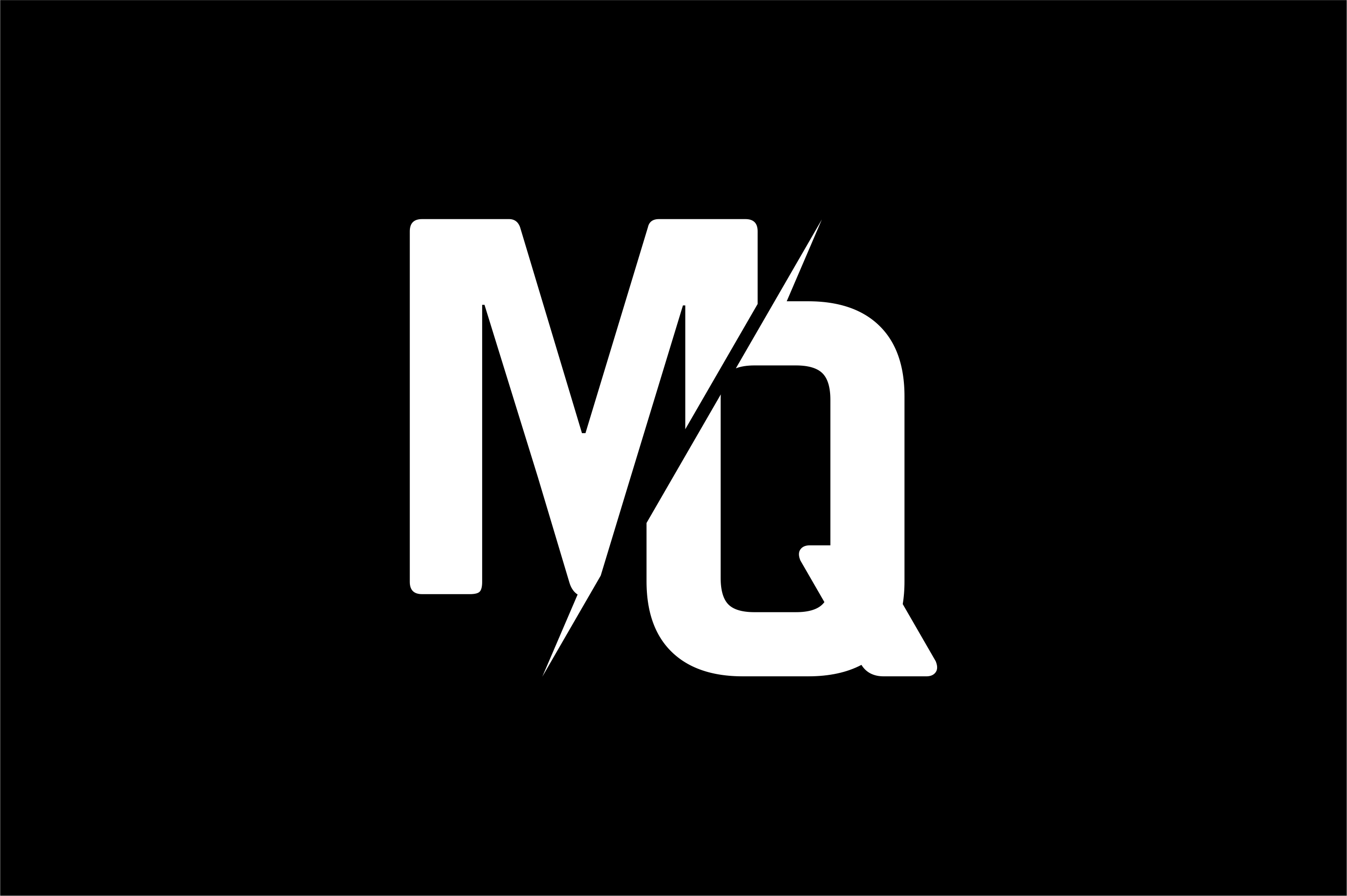 Monogram MQ Logo Design.