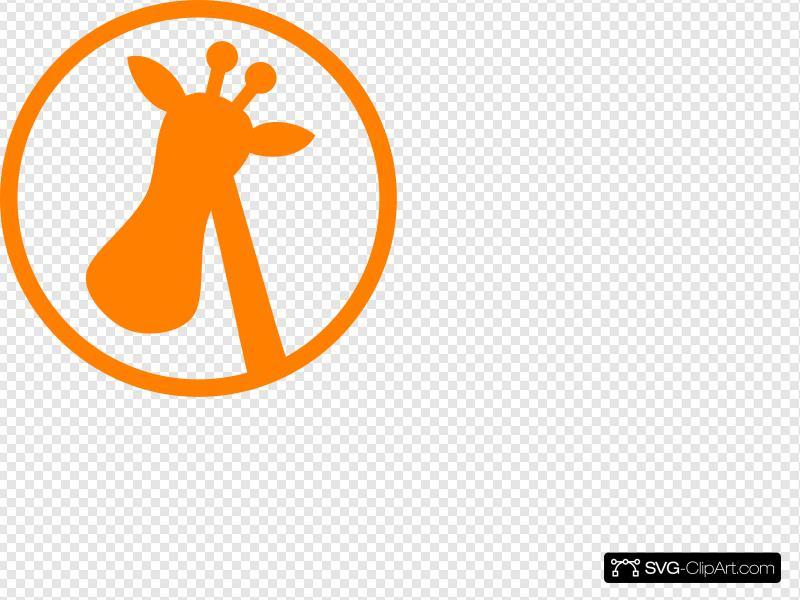 Giraffe Logo Clip art, Icon and SVG.
