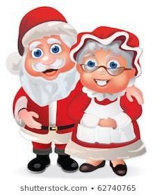 Mr and mrs santa claus clipart 7 » Clipart Portal.