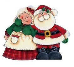 Mr and mrs claus clipart 6 » Clipart Portal.