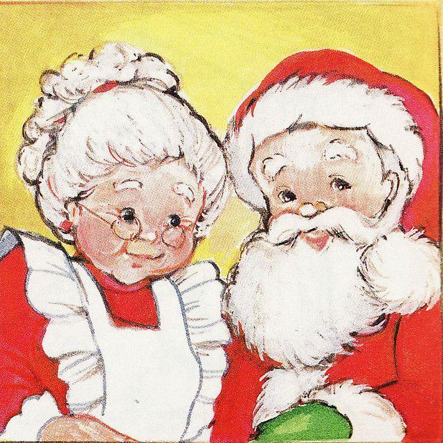 Mr & Mrs Claus.