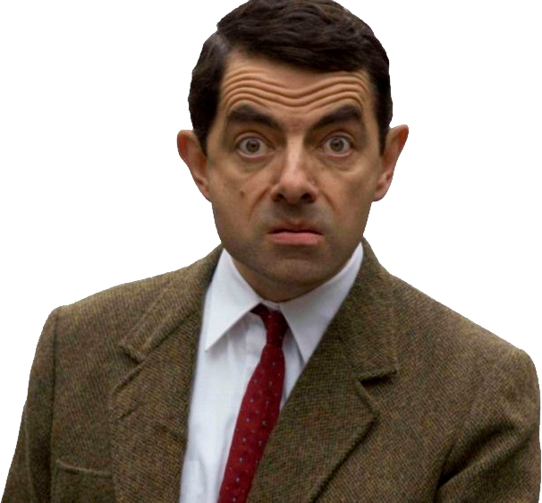 Mr. Bean PNG Image.