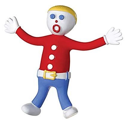 Toysmith Mr Bill Bendable Poseable Figure.