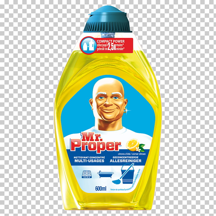 Mr. Clean Detergent Allesreiniger Ajax Citroën, lemon block.