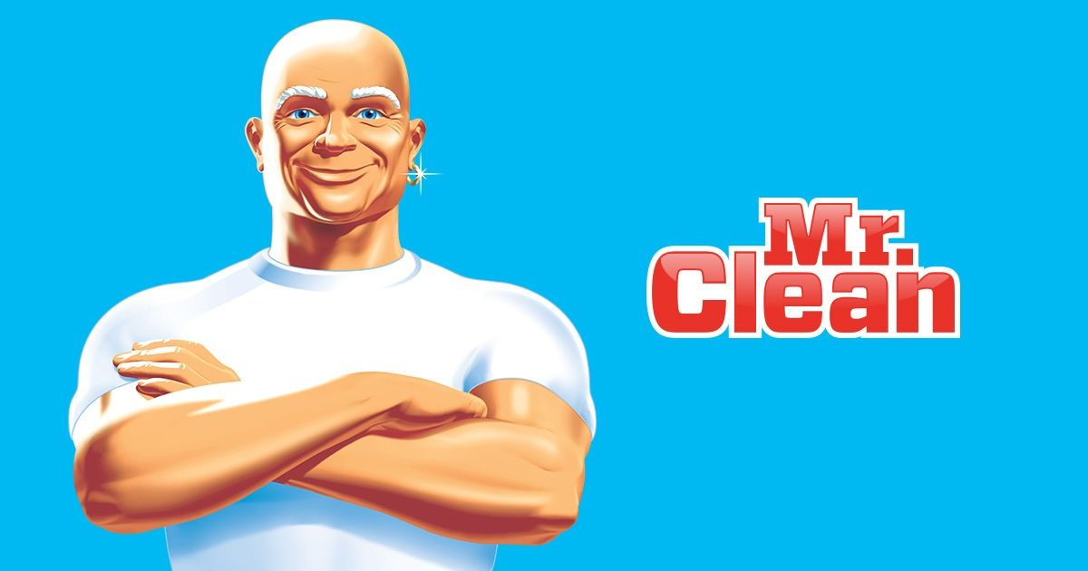 Mr. Clean Logo.