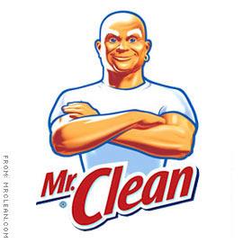 Brawny vs Mr. Clean.