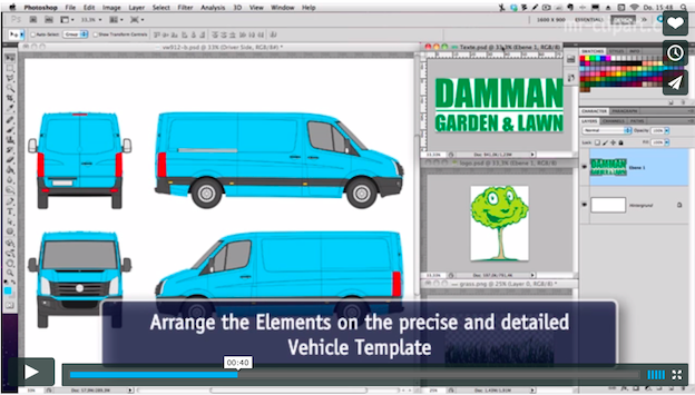 5 tips to get you started in vehicle wrap design.