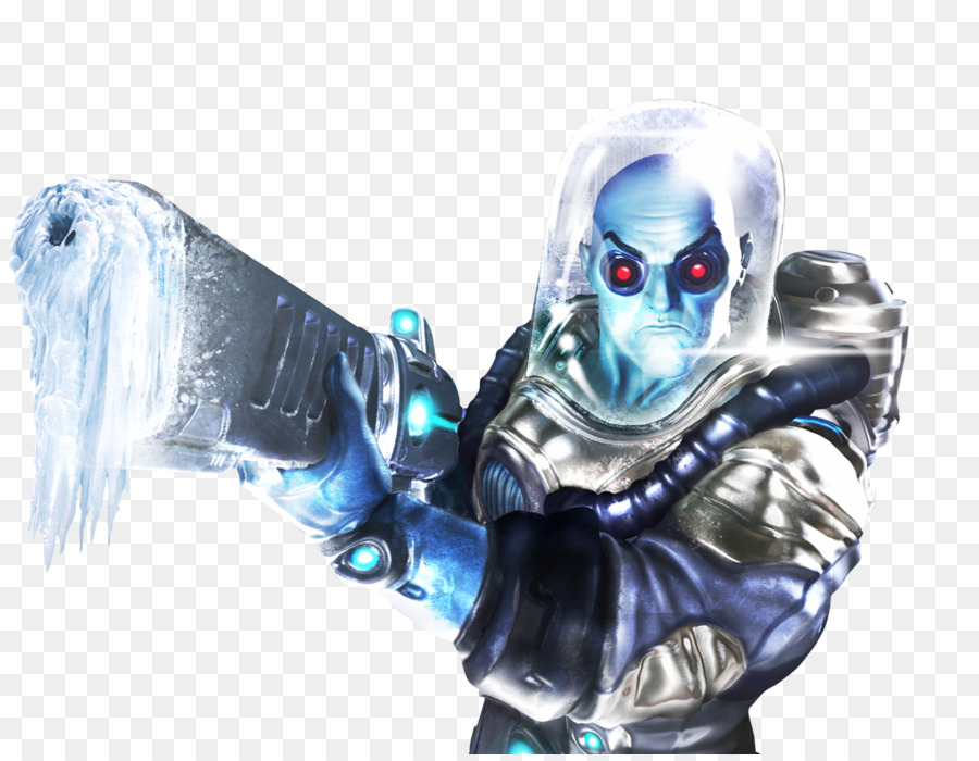 Mr Freeze Figurine png download.
