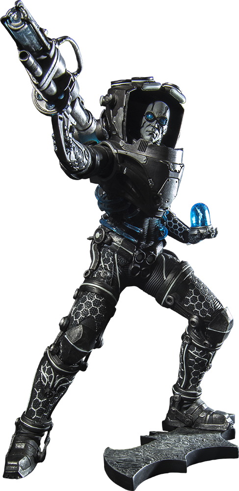 HD Mr Freeze Png Transparent PNG Image Download.