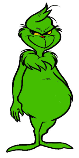 How The Grinch Stole Christmas clipart.