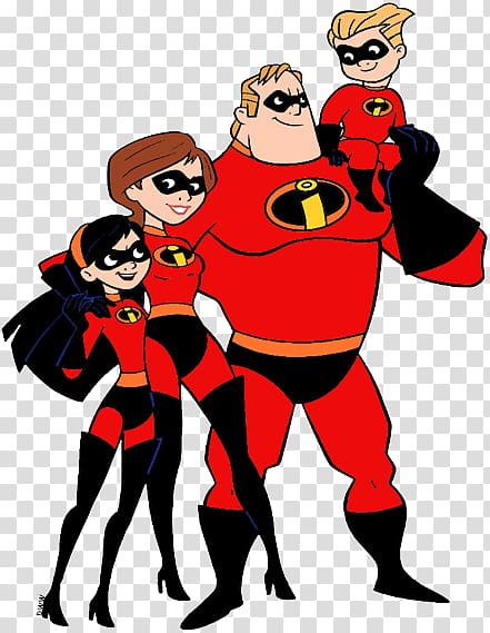Violet Parr Dash Mr. Incredible Jack.
