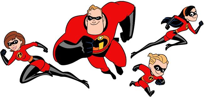 The Incredibles Clip Art.