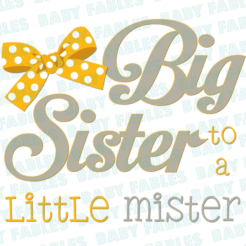 Big sister iron on.