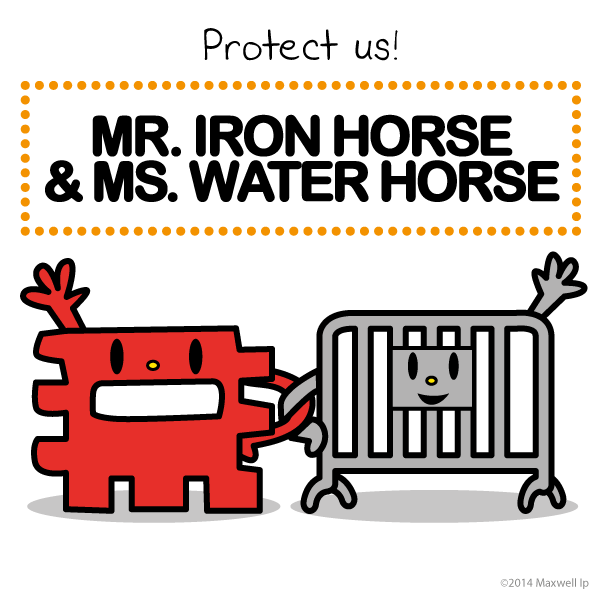 Irons, Horses and Water on Pinterest.