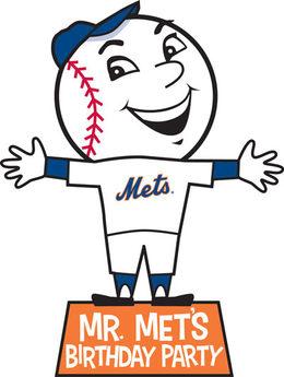 Download mr met drawing clipart New York Mets Shea Stadium.