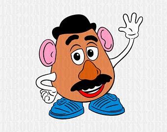 Potato head art.