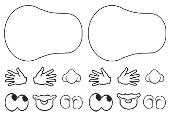 Mr Potato Head Printable & Worksheets.