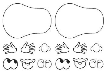 Mr Potato Head Printable & Worksheets.
