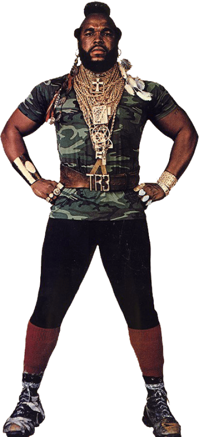 Mr t PNG.