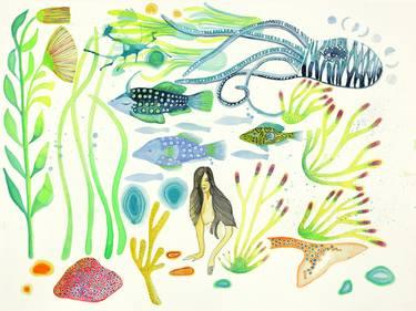Vida Aquatica No. 2 Painting by Noelle Correia.