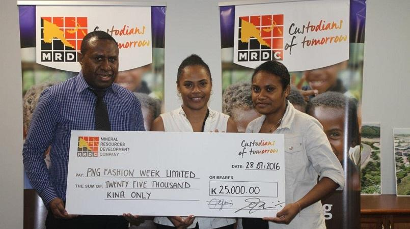 MRDC recognises potential of PNG's fashion industry.