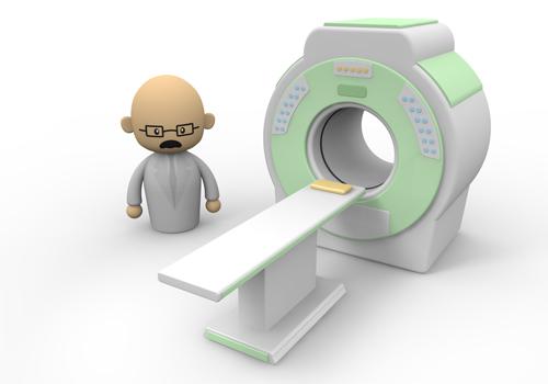MRI testing.